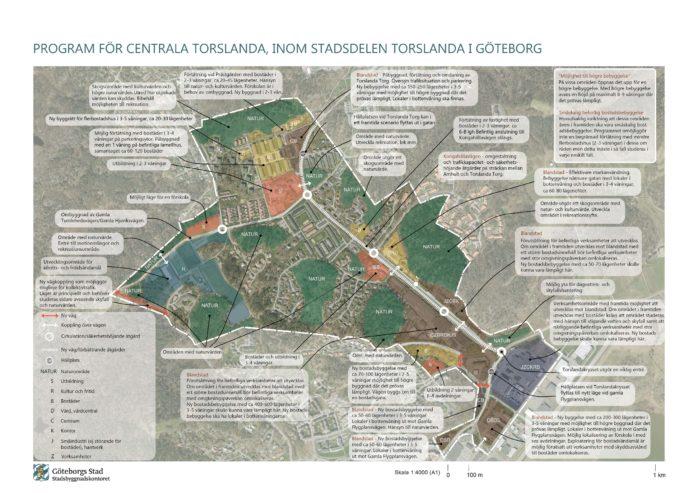 Byggnadsnämnden godkände programmet för Centrala Torslanda.