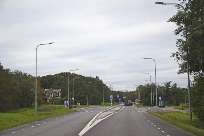 Variabel meddelandeskyltning skulle kunna bli aktuellt vid Änghagens hållplats. Trafikkontoret har dock inte tagit något beslut om införande av den här sortens skyltning.
