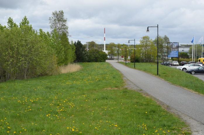Väster om Torslandakrysset, med god anslutning till kollektivtrafiken, kan en kommunal simhall komma att stå färdig 2024.