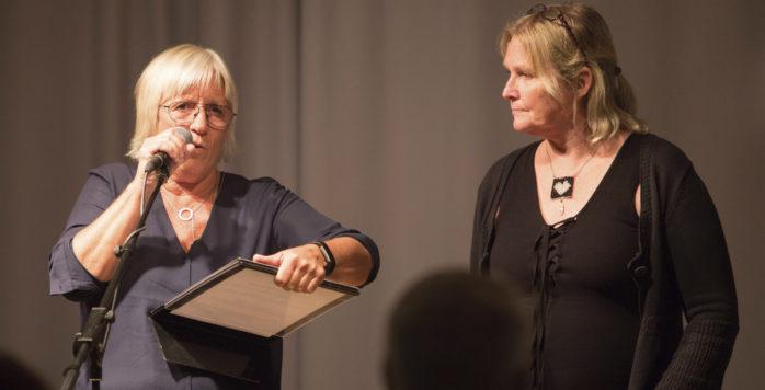 Ingela Johansson och Anna Jacobsson från Lustfyllt Torslanda.