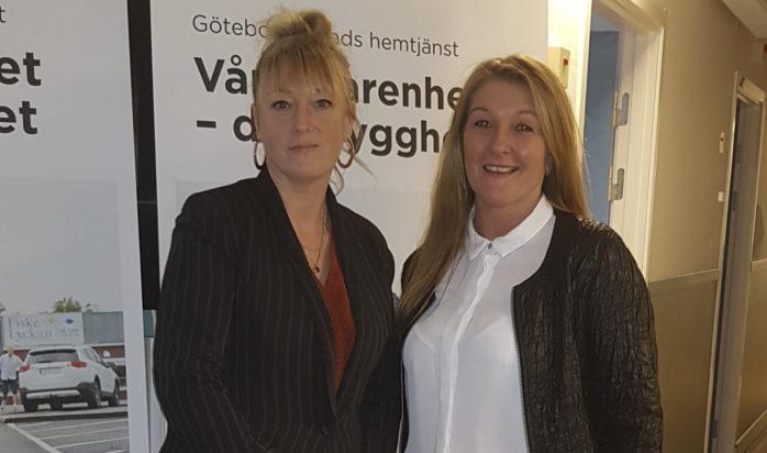 Trygghetskameror kan förbättra vardagen för brukarna anser Paula de Stefano och Maria Stenmark.