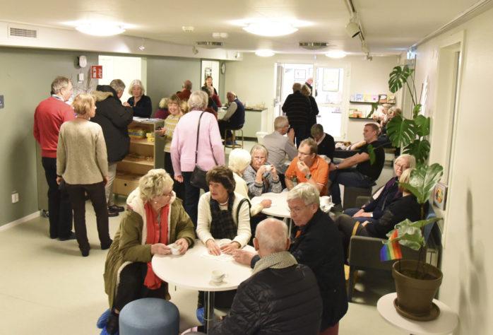 Navet, som firade ett år, är en samlingsplats med verksamheter som bibliotek, utställningshall, familjecentral och samlingslokal för olika evenemang.