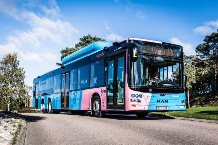 Västtrafiks expressbussar får nya namn och nytt utseende från och med december. Foto: Eddie Löthman