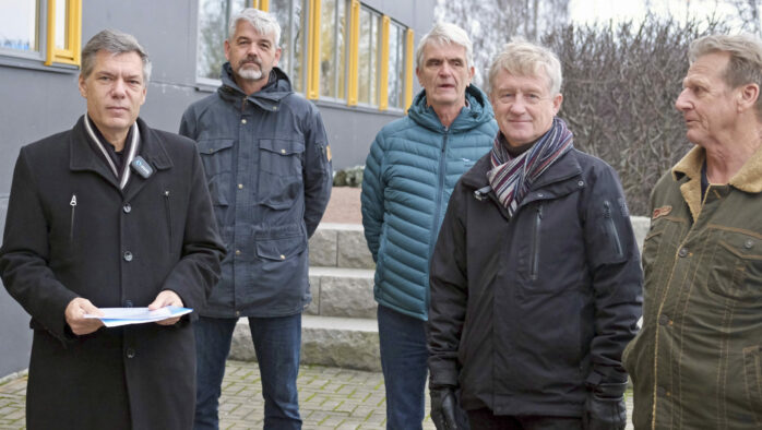Jan Utbult (KD), Hans Sandholt, Hyppeln, Tomas Hafstrand, Knippla, Thomas Alm, Rörö och Arne Johansson, Hyppeln.
