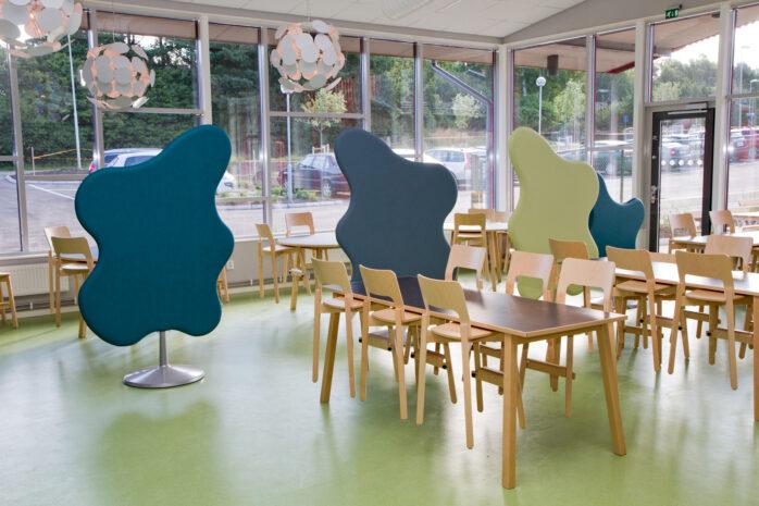 Österödsskolans matsal. Foto: Pia Magnusson
