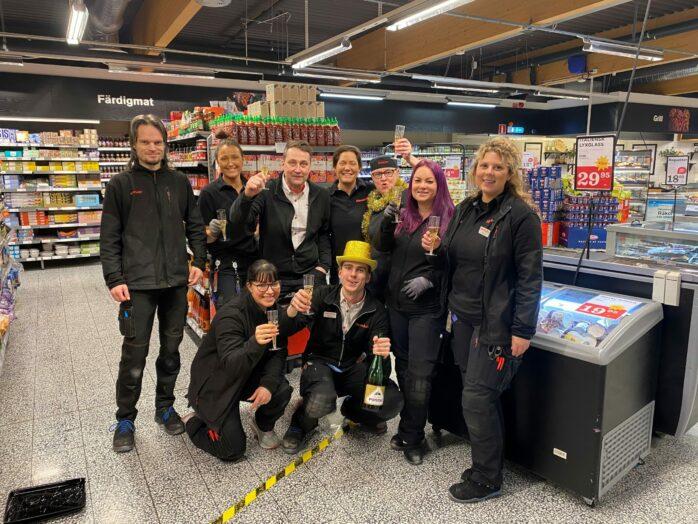 Hemköp Torslanda har utsetts till årets butik bland de 200 Hemköpsbutikerna i landet. FOTO: Hemköp