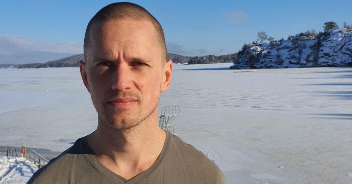 Martin Skimmerhav har tillsammans med Marcus Olofsson utvecklat källhanteringssystemet Sourceio. FOTO PRIVAT