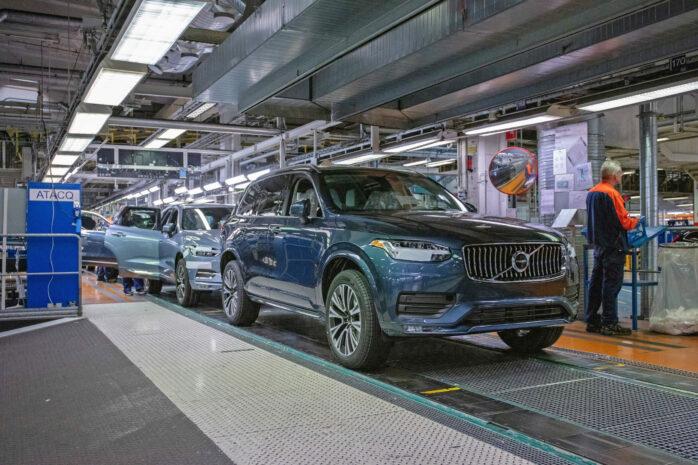Volvo Cars Torslanda blir företagets första klimatneutrala bilfabrik.